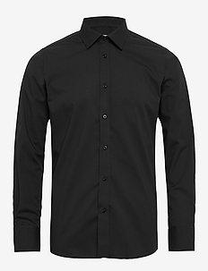 Gustav - basic shirts - 997 jet black