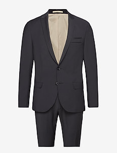 Davidsen-Ravn - single breasted suits - 997 jet black