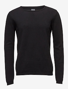 Knit - basic knitwear - 997 jet black