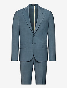 Suit 2210 Simonsen-Ravn - single breasted suits - 776mineral blue2