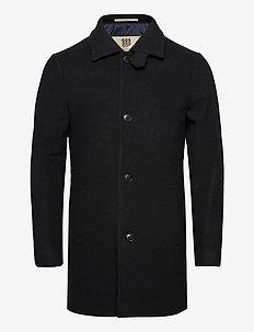 Klaksvig - wool coats - 999 black