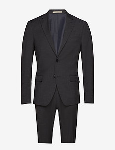 Andersen-Bank - single breasted suits - 980 anthracite