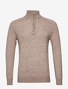 Simon - turtlenecks - 865 nutmeg