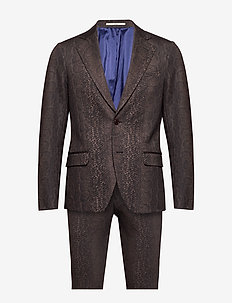 Lorentzen - Ravn - single breasted suits - 890 coffee bean