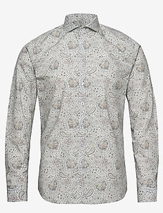 Hjalmar - casual skjortor - 825 warm sand