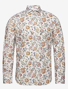 Hjalmar - business shirts - 633 aqua gray