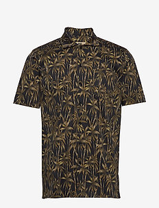 Jim - short-sleeved shirts - 999 black