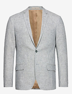 Andersen - single breasted blazers - 633 aqua gray