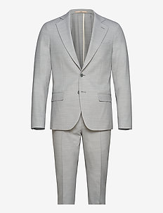 Suit 2210 Simonsen + Ravn - puvut - 633 aqua gray