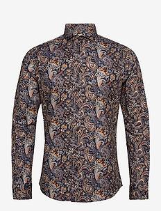 Hjalmar - casual shirts - 740 dress blue