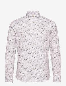 Hjalmar - casual shirts - 106 antique white