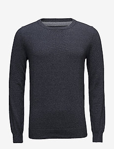 Frederik - basic knitwear - 735 dark denim