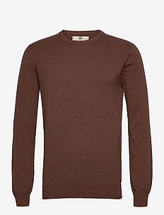 Frederik - basic knitwear - 891 dark chocolate