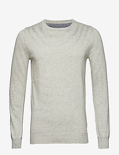 Frederik - basic knitwear - 910 cloud