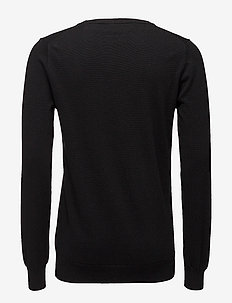 Frederik - basic knitwear - 997 jet black