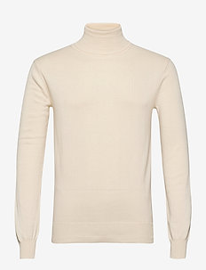 Henrik - turtlenecks - 106 antique white