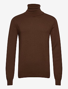 Henrik - turtlenecks - 891 dark chocolate