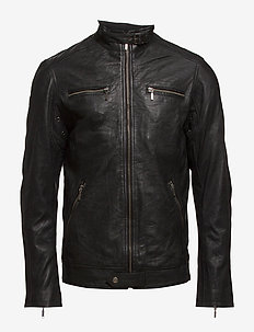 Leather Jacket - 997 JET BLACK