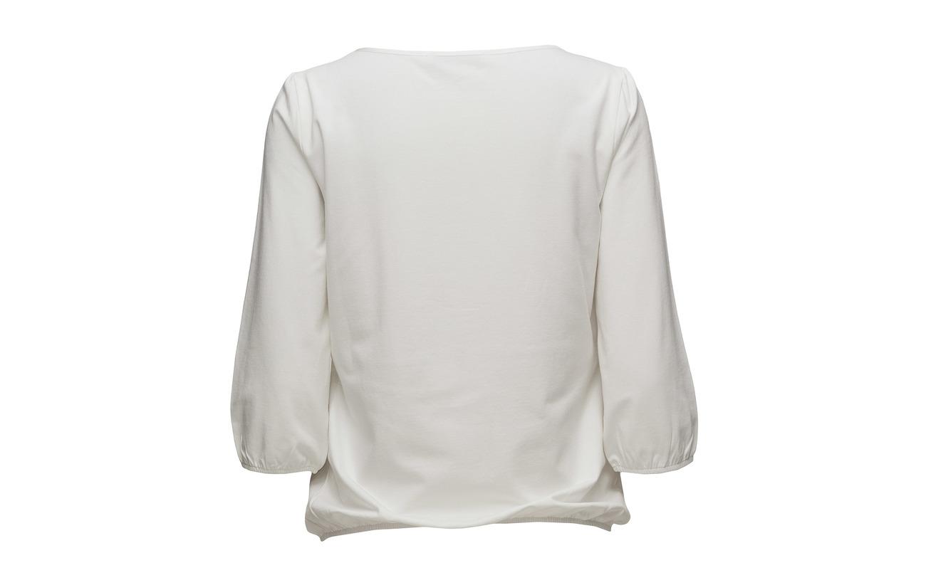 Modale Barclay Short Sleeve 4 3 Shirt Offwhite 48 4 Coton Elastane Betty 6wxOzO