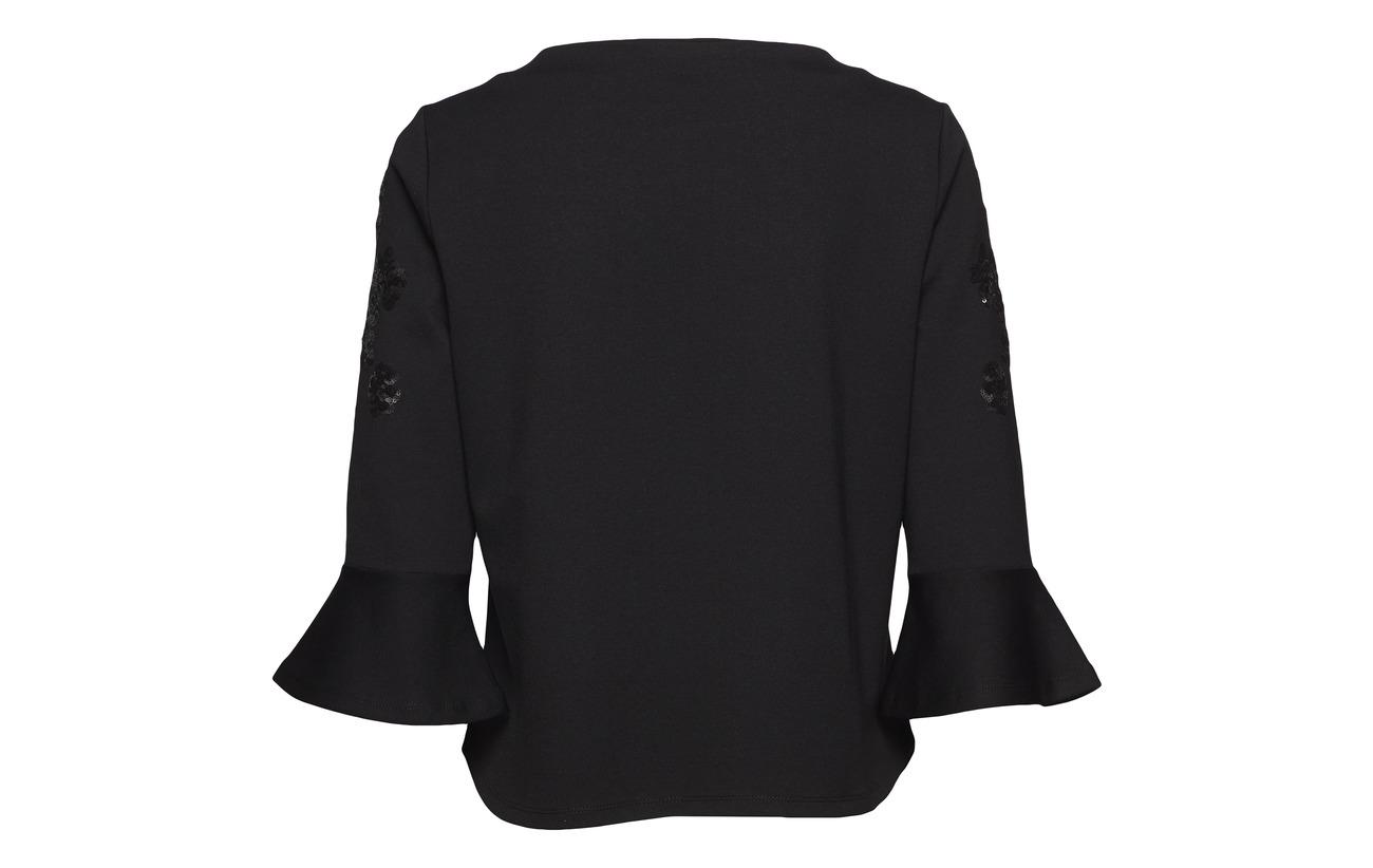 Viscose Polyester Elastane Sleeve Barclay Betty 25 5 70 Sweat Black 4 Short 3 wUp8xqv