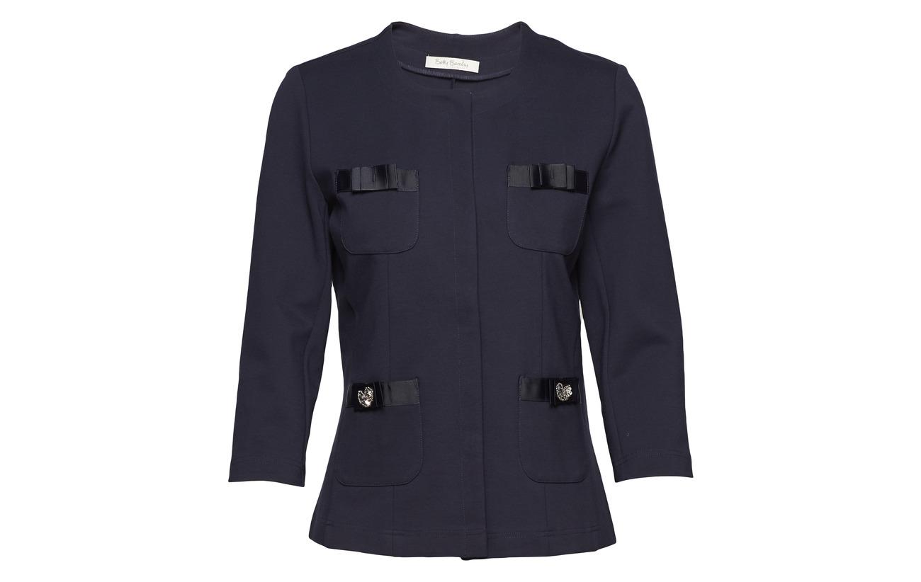 Viscose Sky Polyamide Betty 4 Short Barclay Elastane Jacket 68 Sleeve 4 Dark 28 Shirt 3 HwqgBRv
