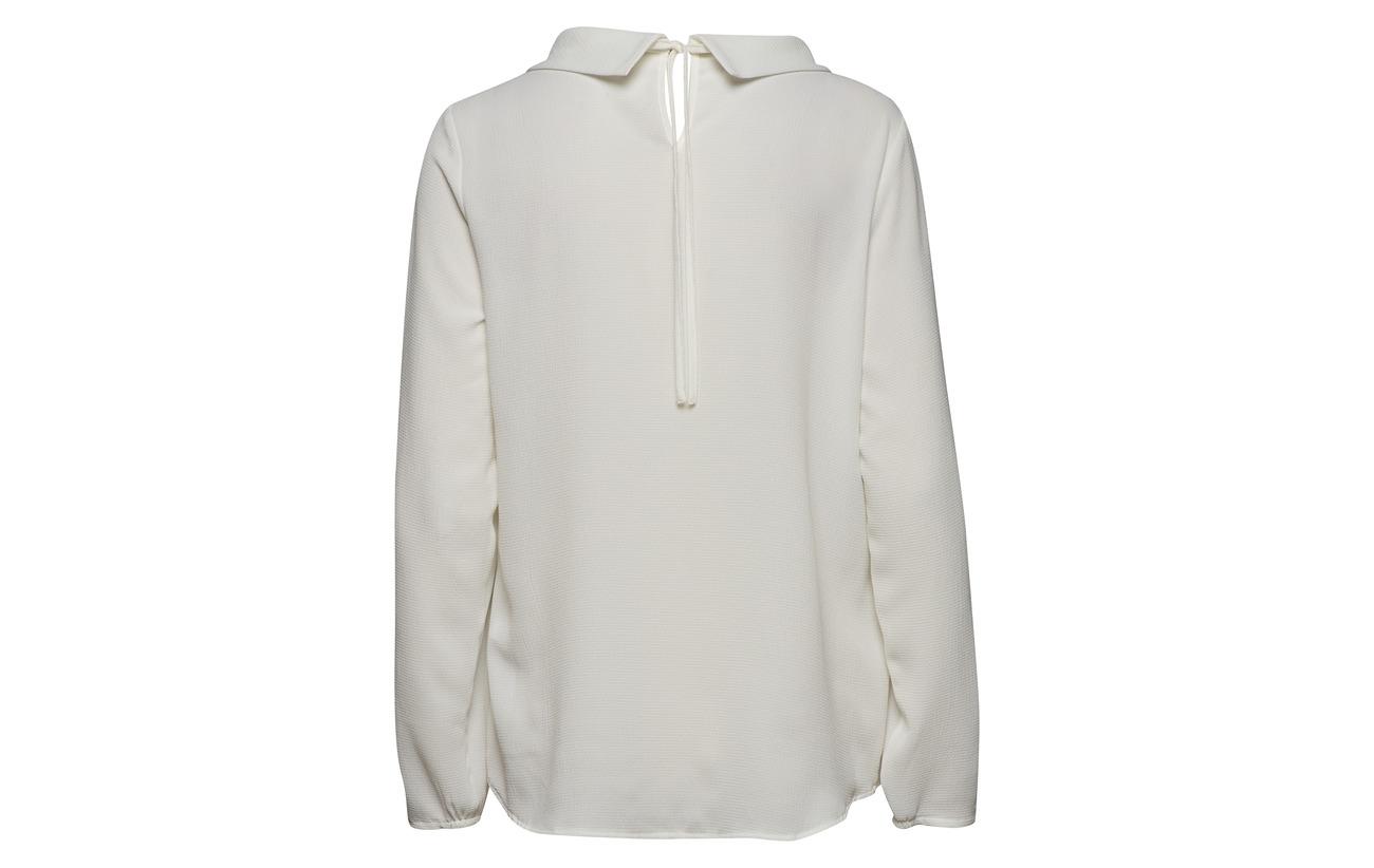 3 Elastane Blouse Polyester Équipement Offwhite Betty Barclay 97 nx0YwHU1q