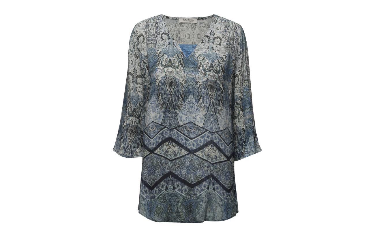 Barclay Blouse 100 4 Sleeve Long Betty blue Blue 3 Viscose dHcx5qc4wU