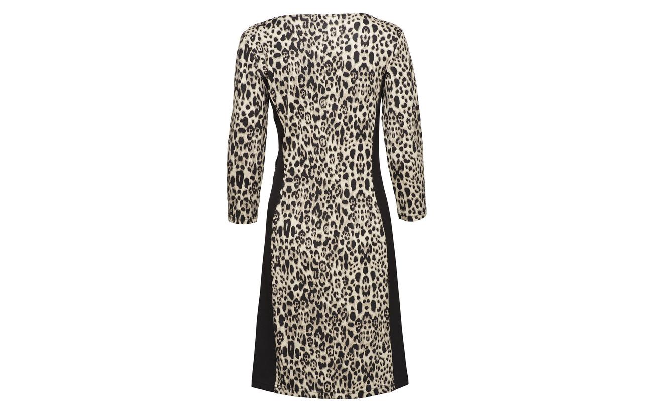 Polyester Elastane Betty 3 Barclay 10 Short 4 88 Black Viscose 2 nature Dress Sleeve FTFPZqw