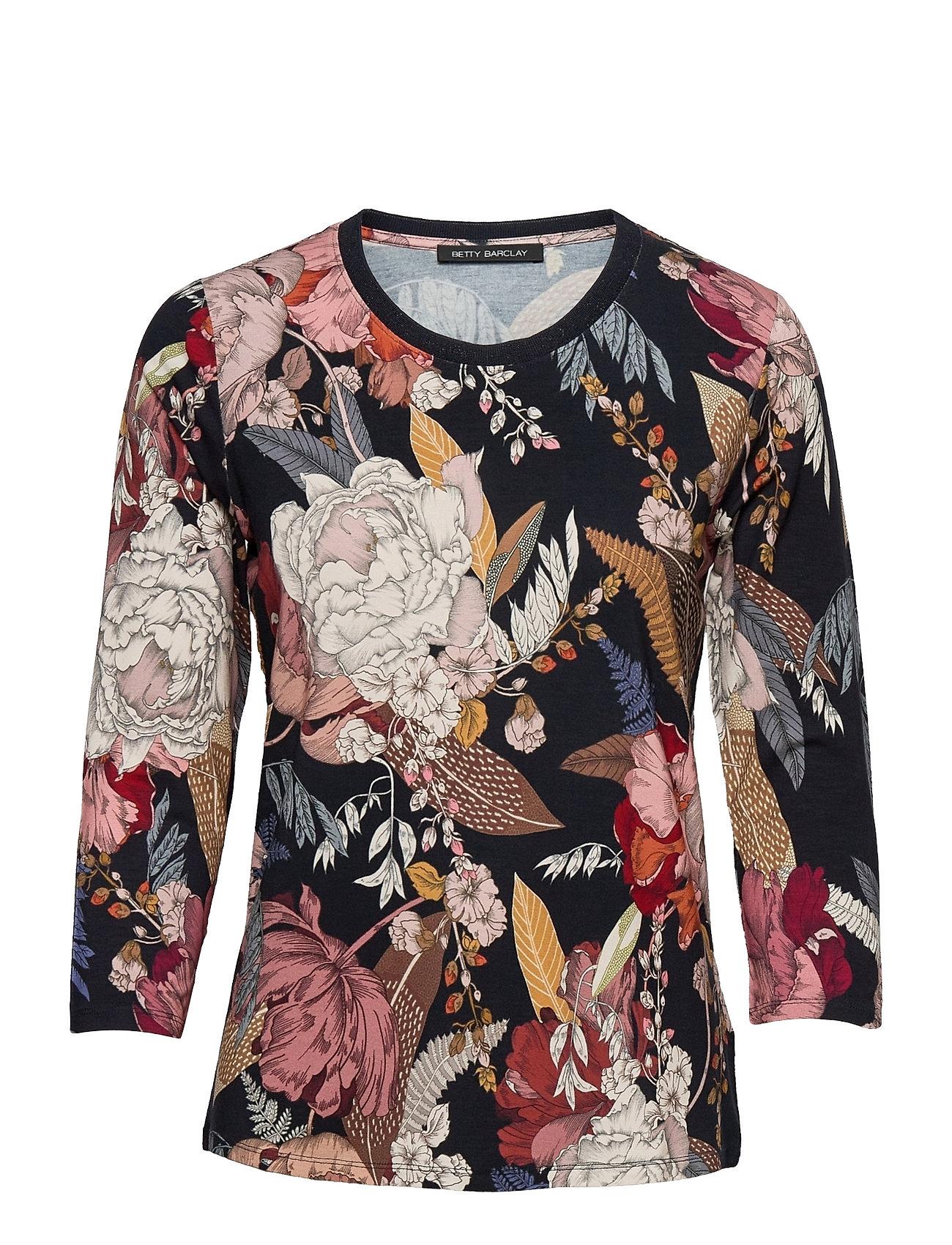 Shirt Short 3/4 Sleeve Langærmet T-shirt Multi/mønstret Betty Barclay