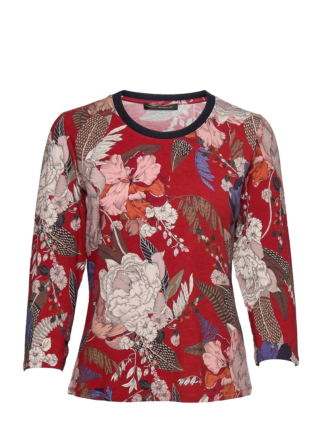 Shirt Short 3/4 Sleeve Langærmet T-shirt Rød Betty Barclay