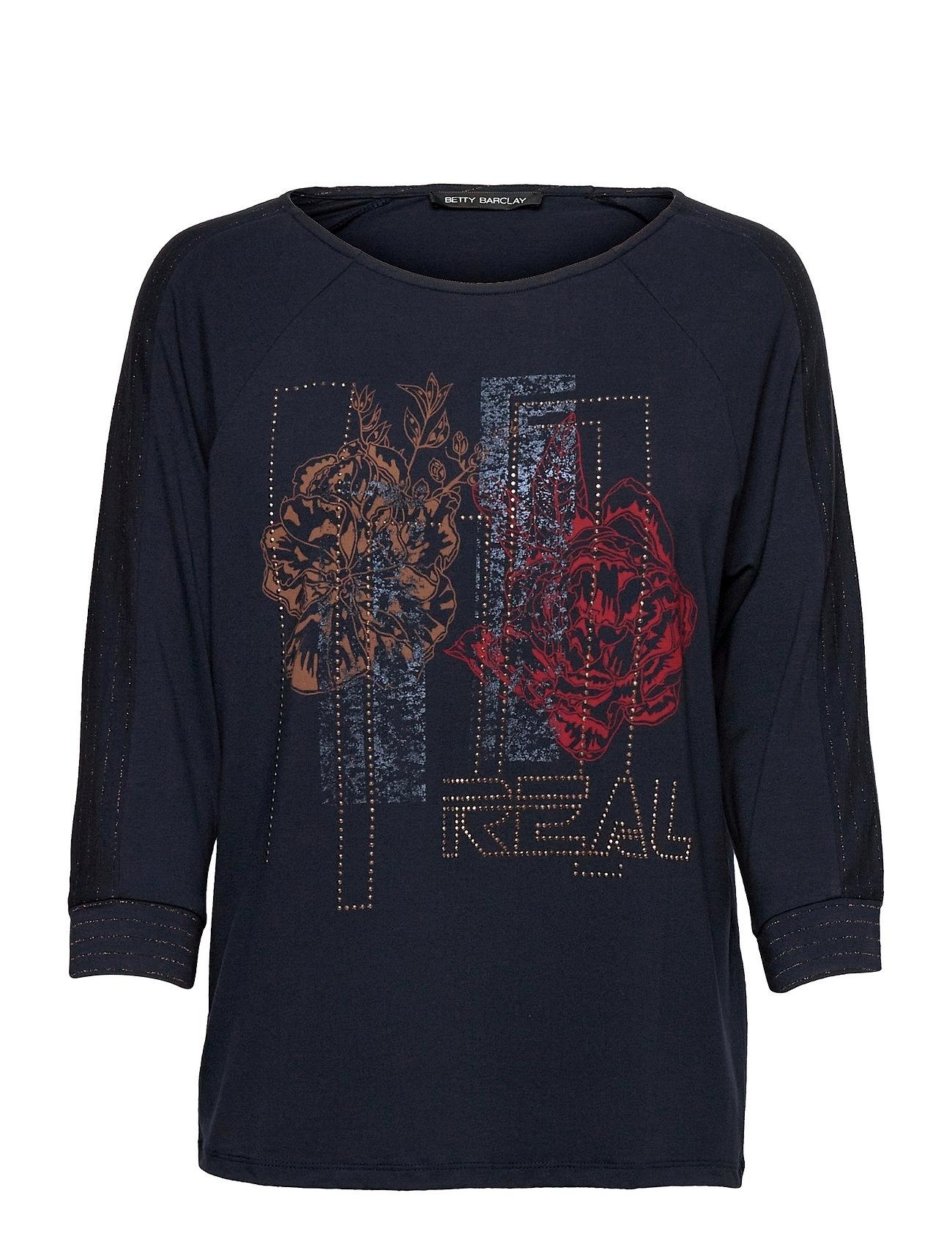 Shirt Short 3/4 Sleeve Langærmet T-shirt Blå Betty Barclay