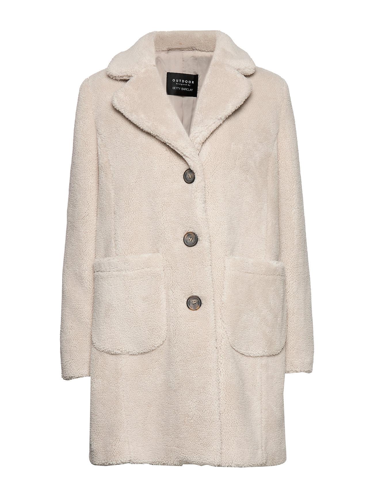 Betty Barclay Jacket Plush - LIGHT BEIGE