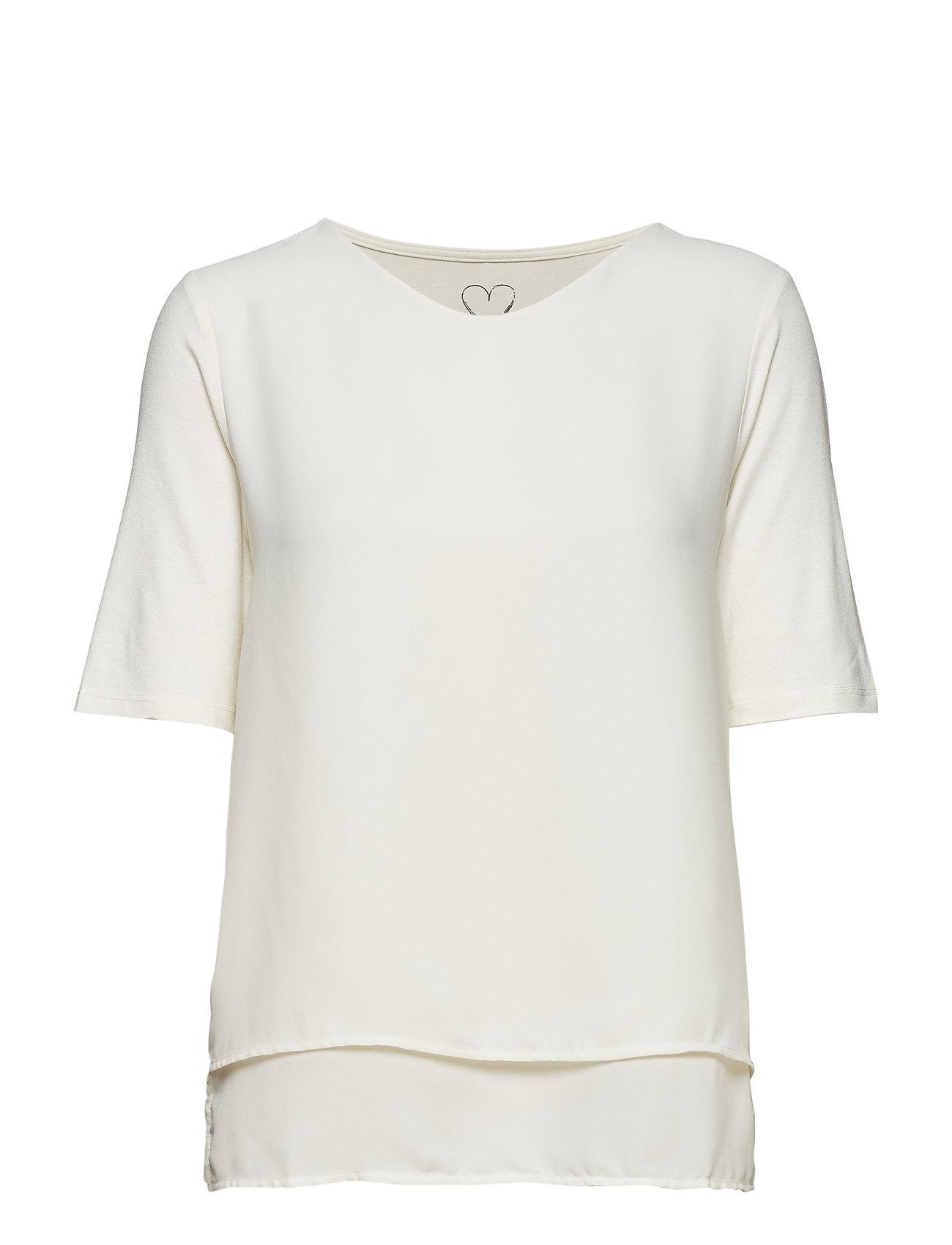 Betty Barclay Shirt Short 1/2 Sleeve - ICE VANILLA