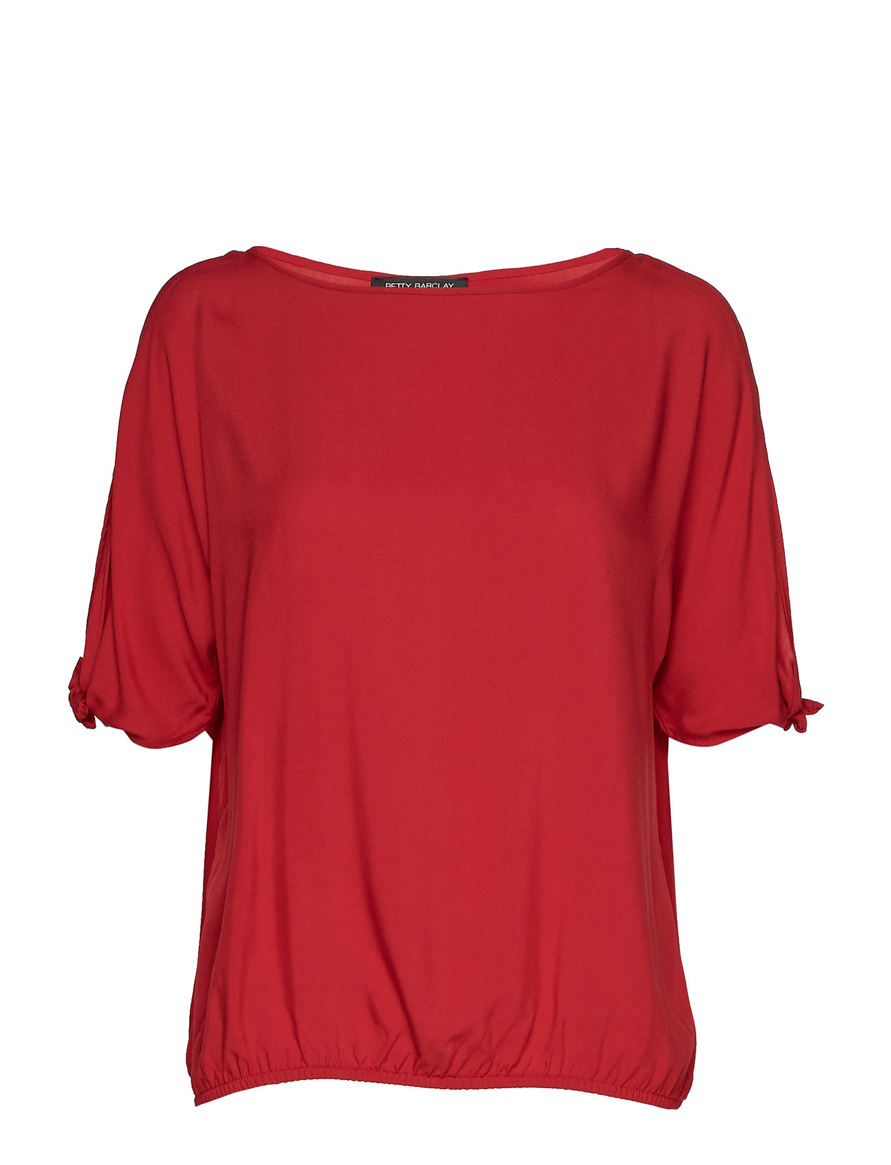Betty Barclay Blouse Short 1/2 Sleeve - RED SCARLET