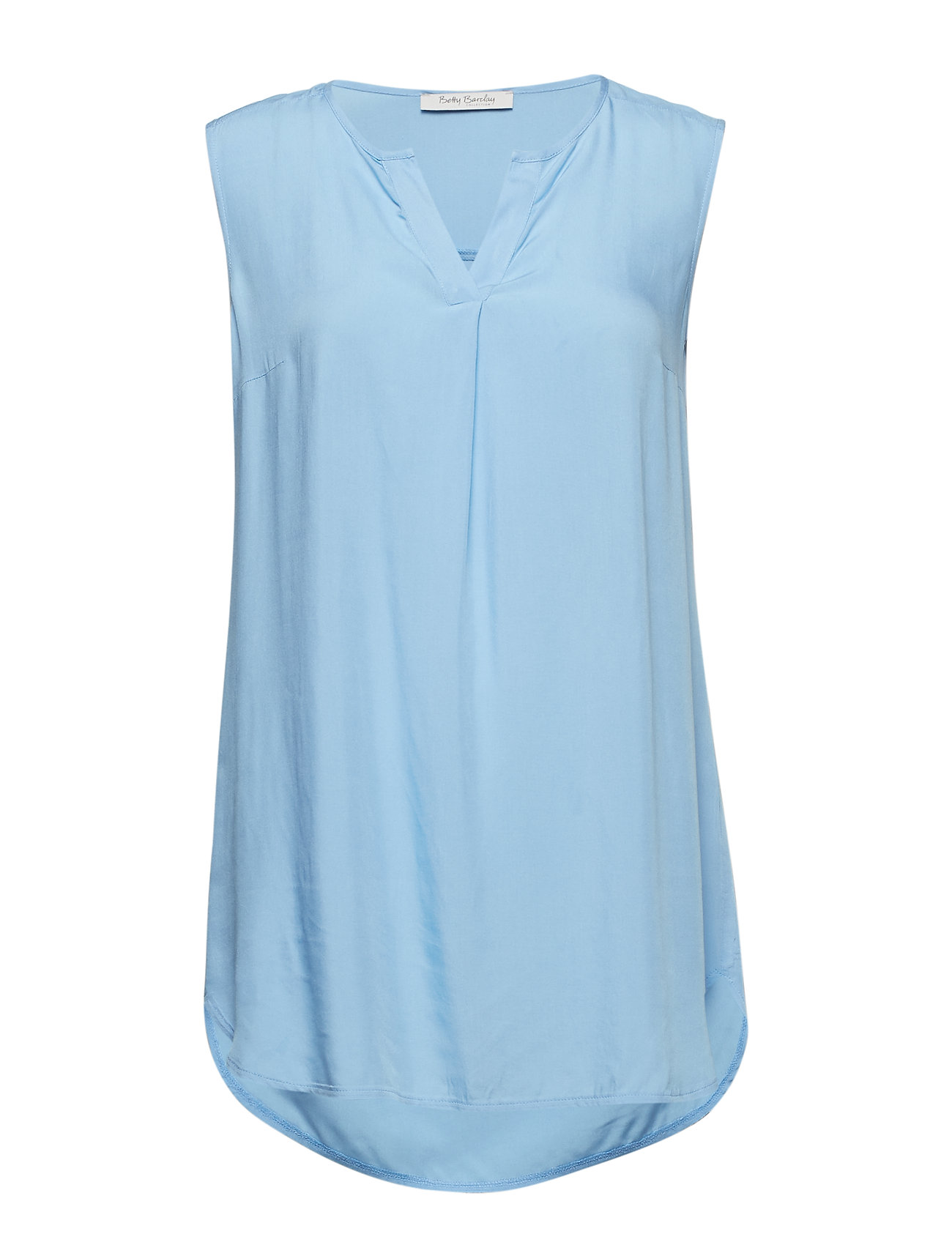 Betty Barclay Blouse Long without Sleeve - PLACID BLUE