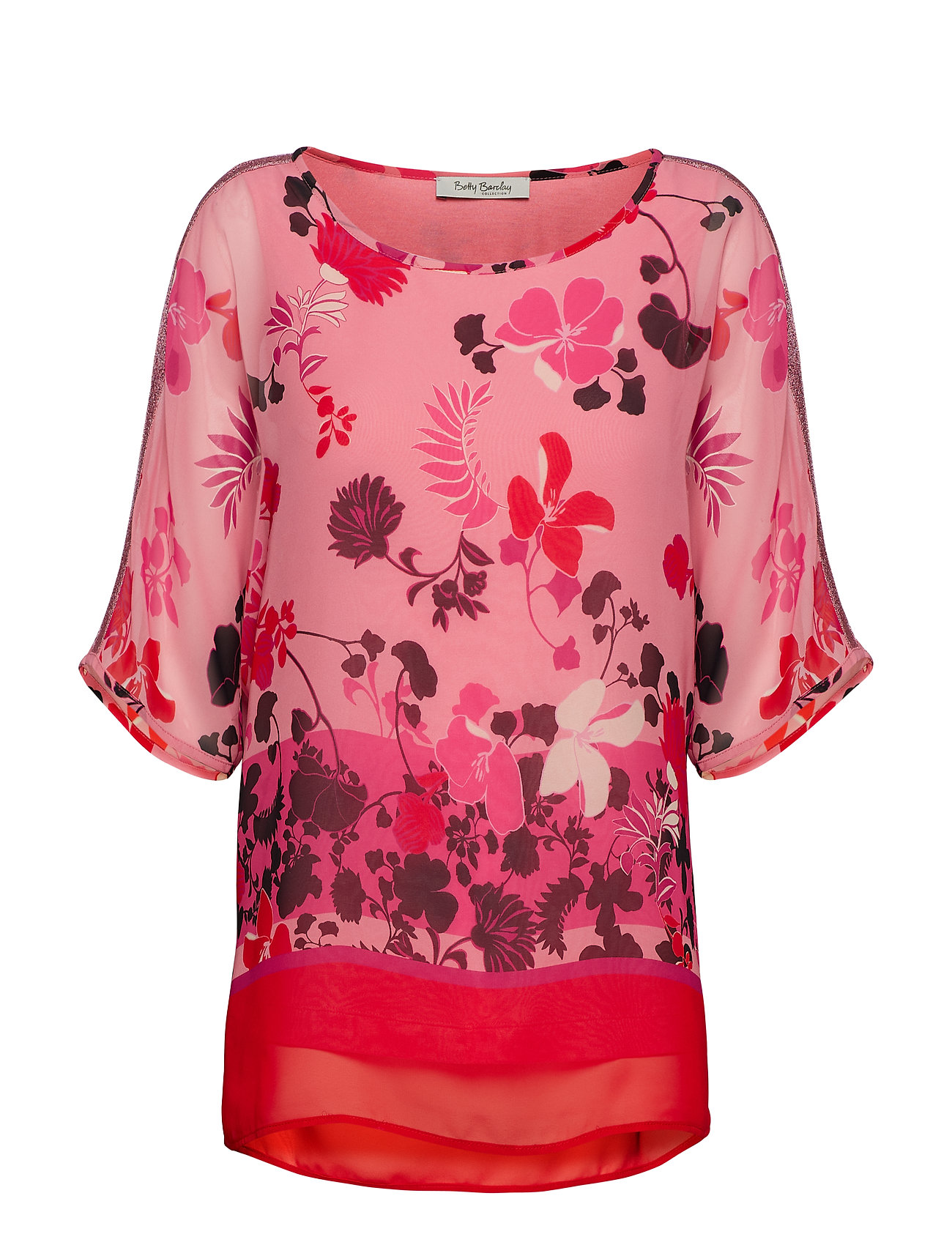 Betty Barclay blouse - ROSè/ RED