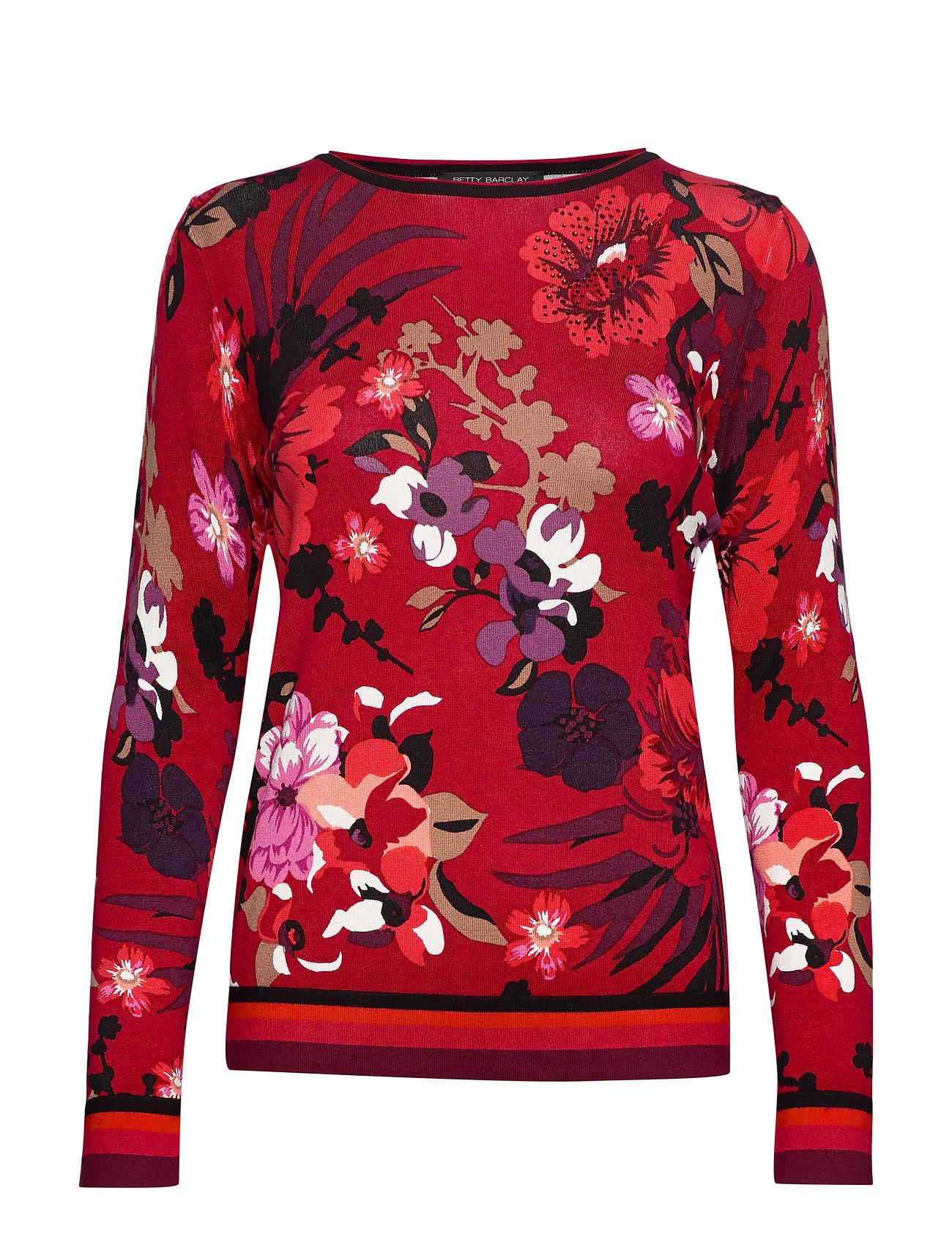 Image of Knitted Pullover Short 1/1 Sle Strikket Trøje Rød Betty Barclay (3228632113)