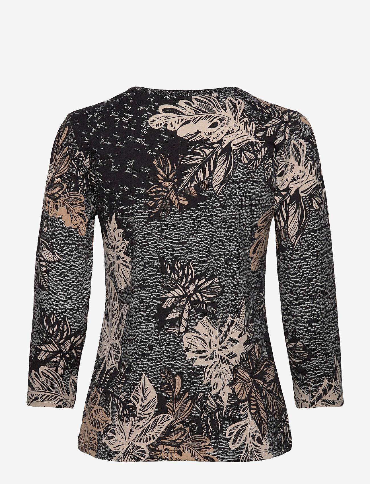 Shirt Short 3/4 Sleeve (Black/stone) (29.99 €) - Betty Barclay OniFz