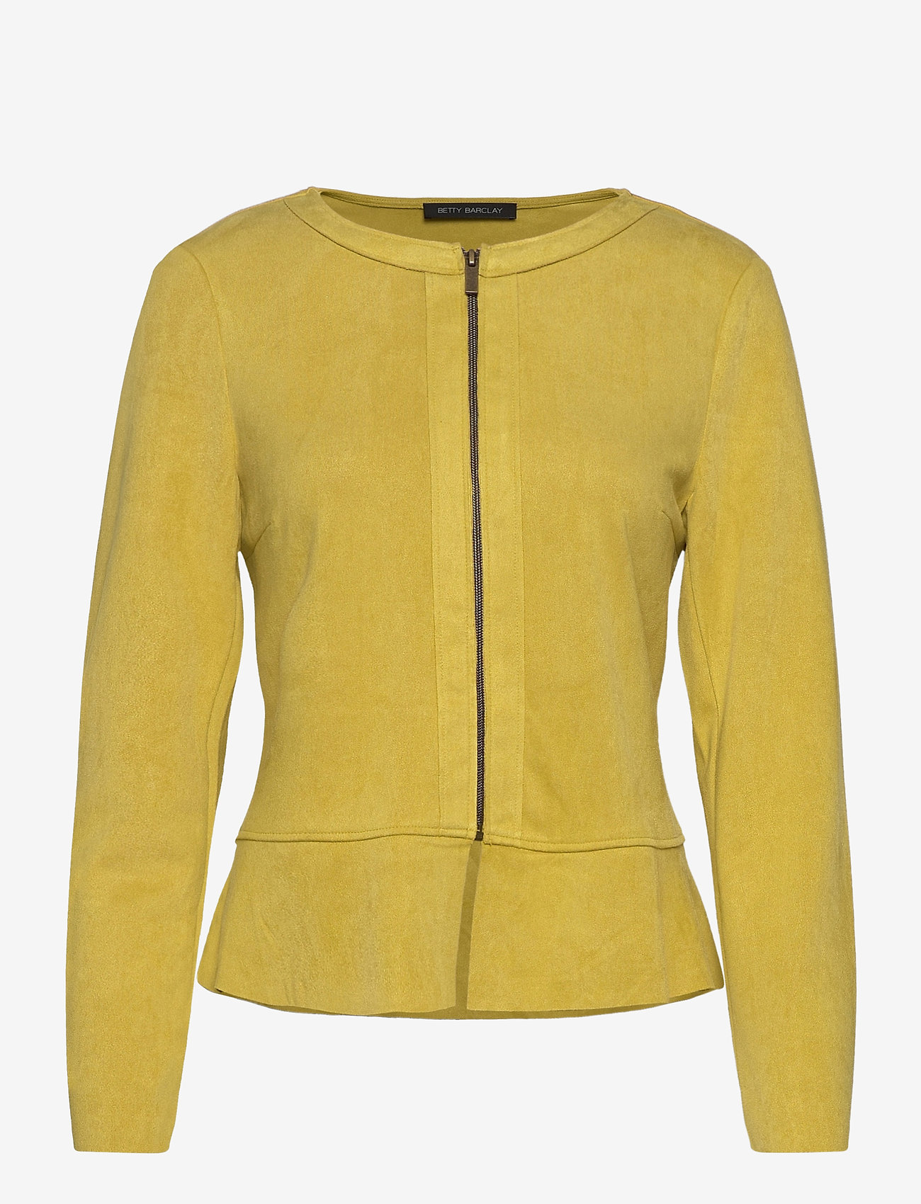 Betty Barclay - Blazer Jacket Short 1/1 Sleeve - colberts - golden olive - 0