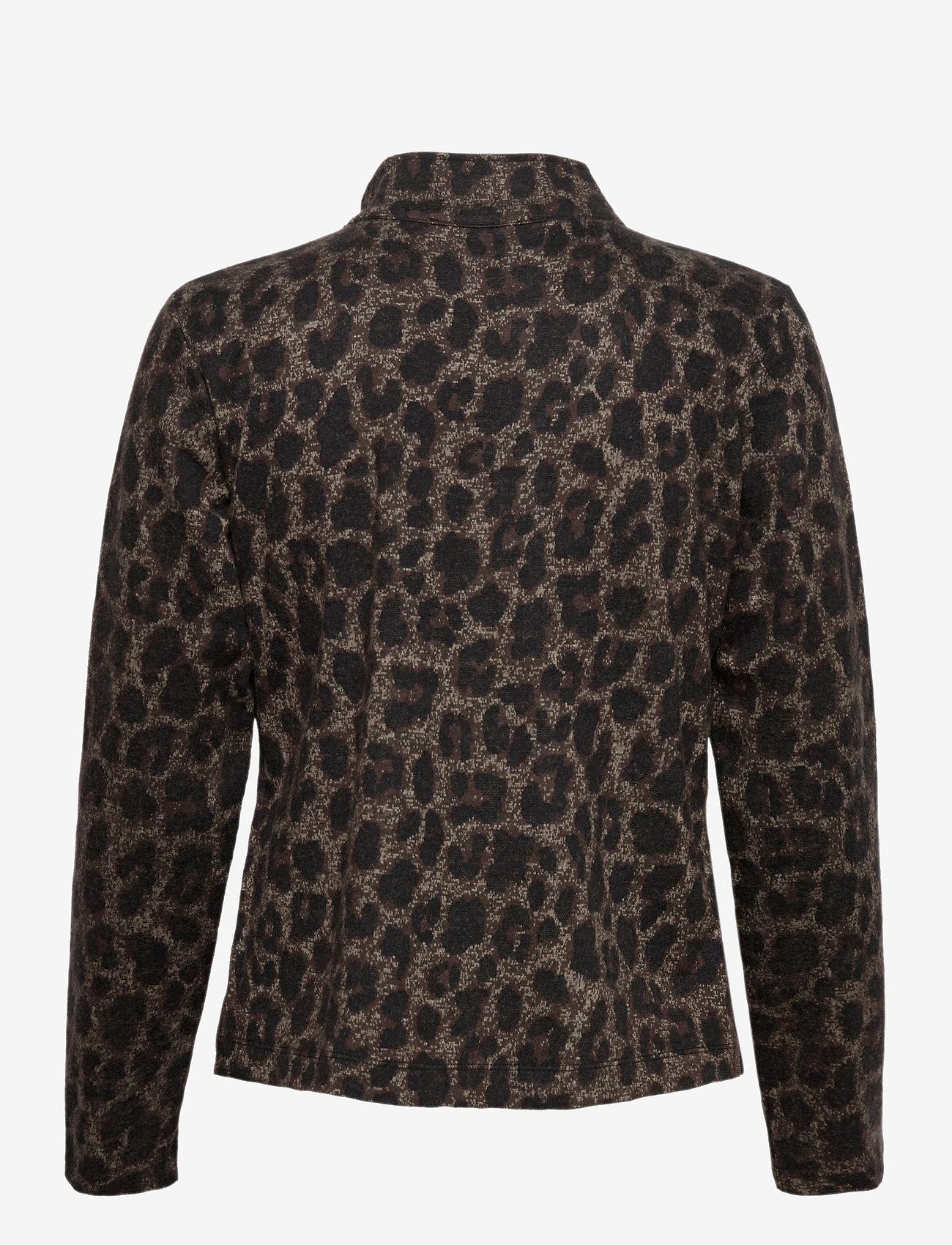 Betty Barclay - Blazer Jacket Short 1/1 Sleeve - colberts - black/taupe - 1