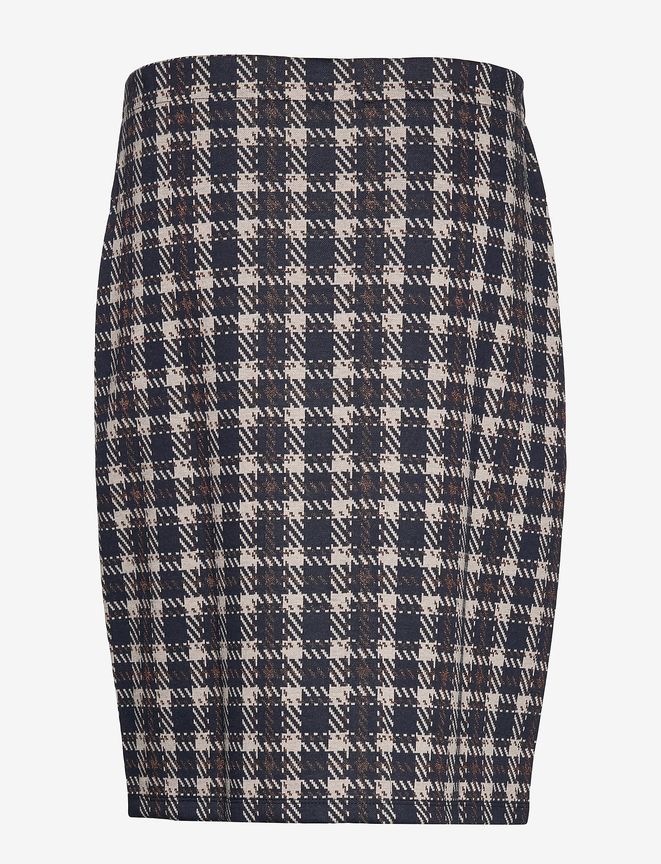 Skirt Medium Length Classic (Dark Blue/brown) (339.60 kr) - Betty Barclay