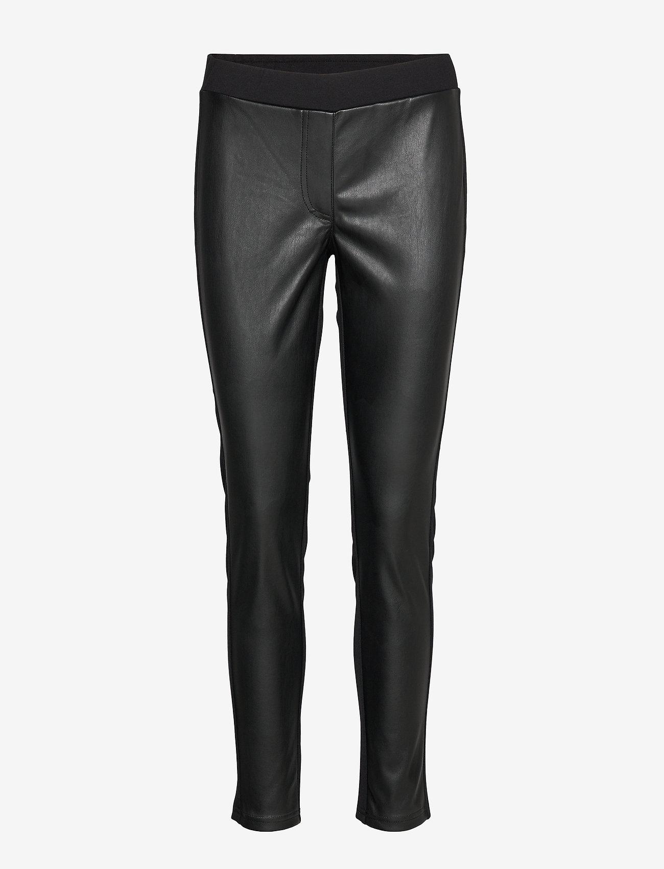 Betty Barclay - Pants Classic 1/1 Length - lederhosen - black - 0