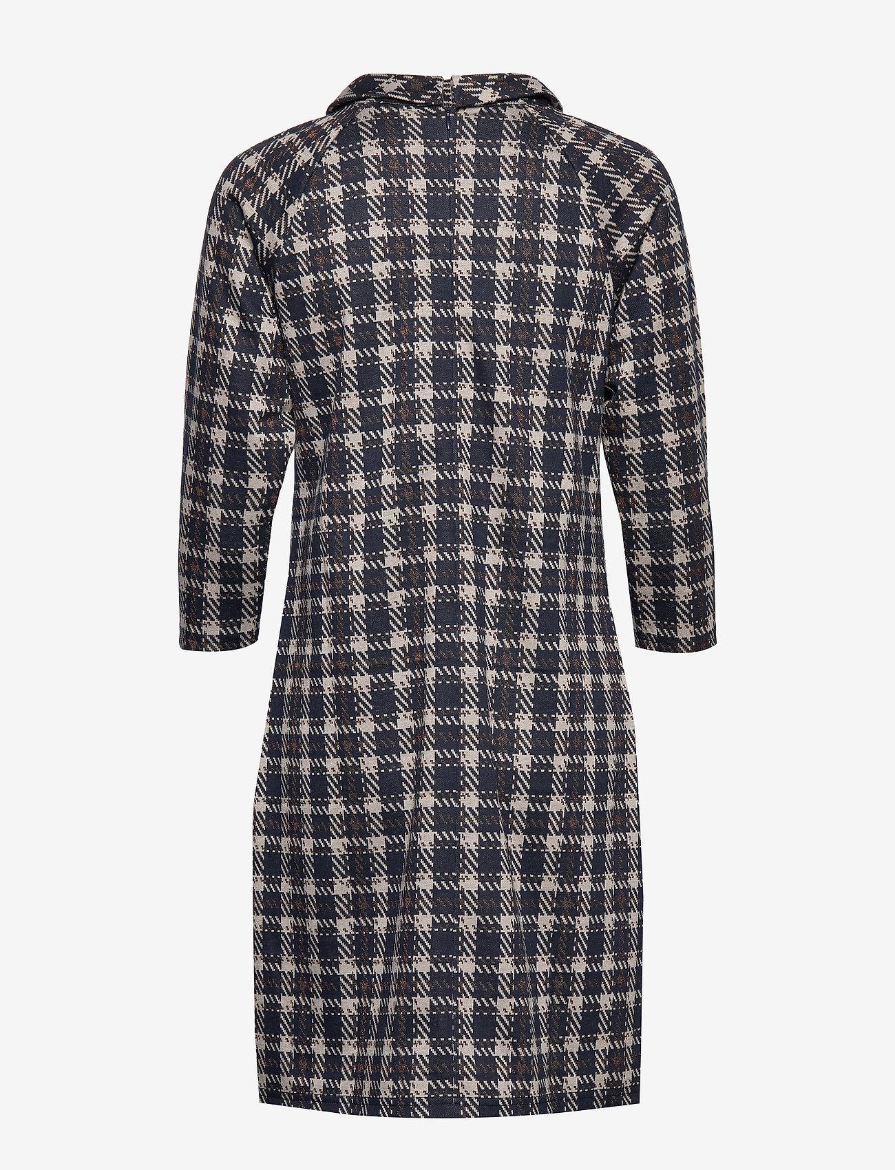 Dress Short 3/4 Sleeve (Dark Blue/brown) - Betty Barclay fXFpSE