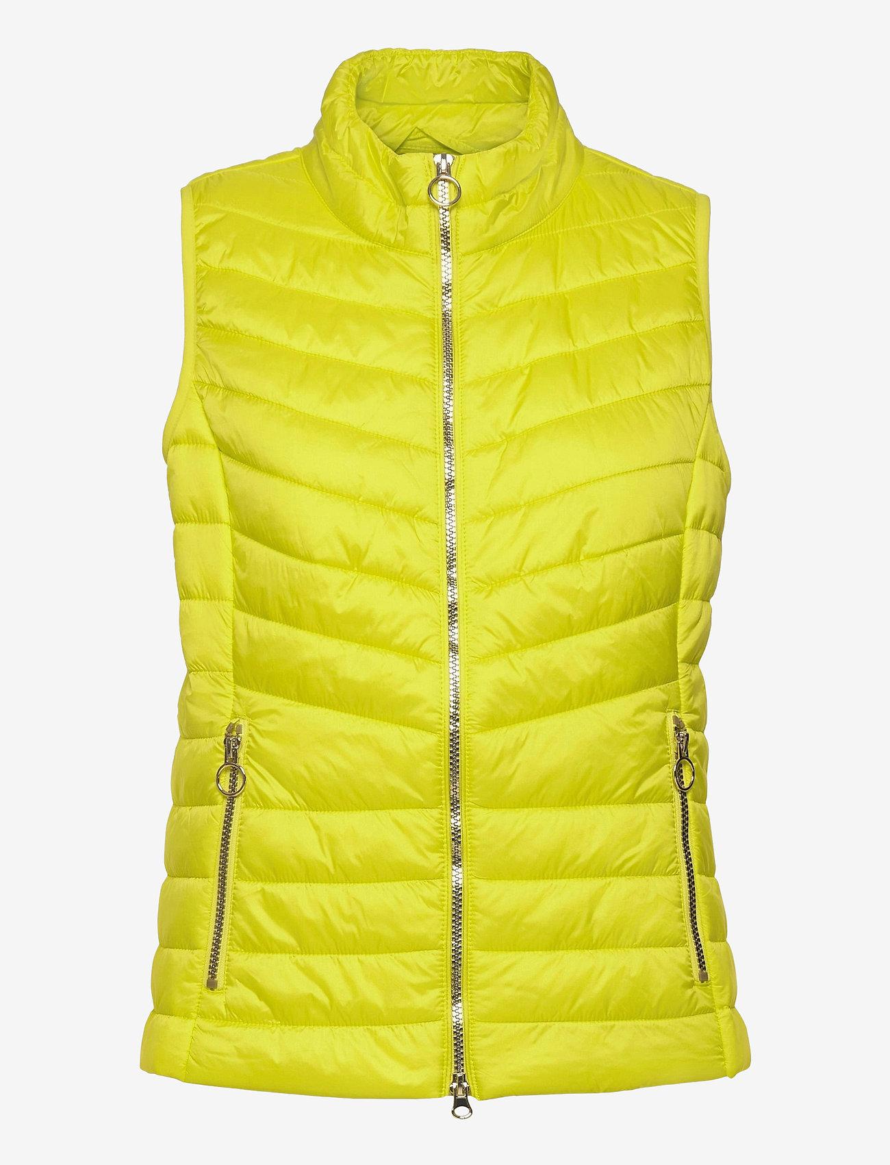 Betty Barclay - Vest Wadding - puffer vests - neon yellow - 0