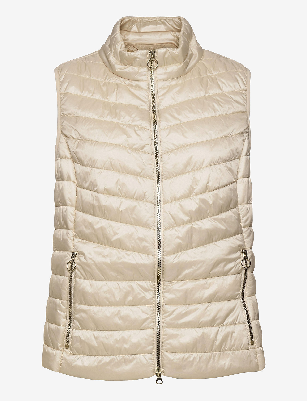 Betty Barclay - Vest Wadding - puffer vests - tapioca - 0