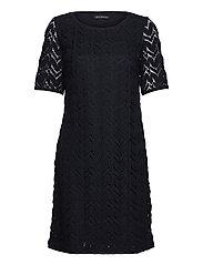 Dress Short 1/2 sleeve - DARK SKY