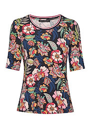 Shirt Short 1/2 Sleeve - DARK BLUE-ROSé