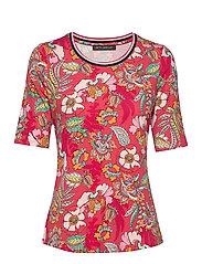 Shirt Short 1/2 Sleeve - RED/ROSè