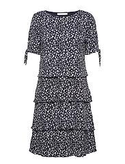 Dress Short Jersey - DARK BLUE/CREAM