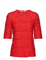 Shirt Short 1/2 Sleeve - HIBISCUS RED